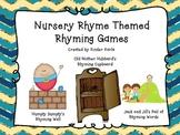 Nursery Rhyme Rhyming Games