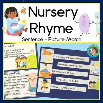 Nursery Rhyme Sentence Picture Match