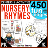 Nursery Rhymes Complete {Lesson Plans, Centers, Worksheets}