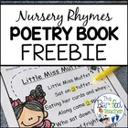Nursery Rhymes Poetry Book (Color & BW) - SAMPLE