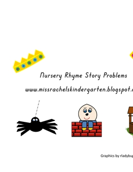 Nursery Rhymes Story Problem Letters