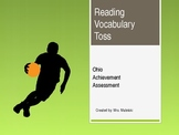 OAA Reading Vocab Toss 1