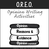 O.R.E.O. Opinion Writing Strategy {Mini-posters & Printables}