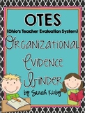 OTES (Ohio's Teacher Evaluation System) Organizational Evi