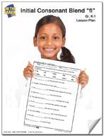 fl Initial Consonant Blend Lesson Plan K-1