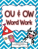 OU and OW Word Work
