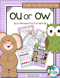 OU or OW? Digraph Activities That Teach the Difference