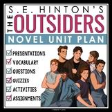 OUTSIDERS UNIT - Assignments, Presentations, Quizzes, Voca