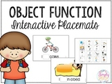 Object Function Interactive Placemats