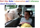 Observations & Inferences (Scientific Method) - Lesson Pla