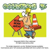 Occupations Cartoon Clipart Volume 3