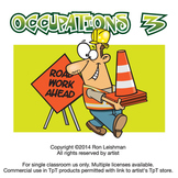 Occupations Cartoon Clipart Volume 3