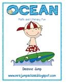 Ocean Animals Math and Literacy Fun