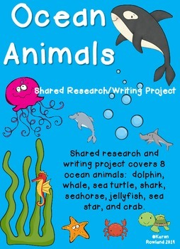 Ocean Animals Shared Research and Writing Project