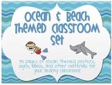 Ocean & Beach Classroom Decor Set