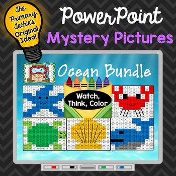 Ocean Bundle Watch, Think, Color Games - EXPANDING BUNDLE