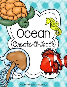https://www.teacherspayteachers.com/Product/Ocean-Create-A-Book-1133165