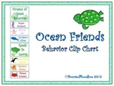 Ocean Friends Themed Behavior Clip Chart