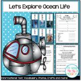 Balanced Literacy...Ocean Life...Crafts and Activities!