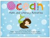Ocean Math, Literacy and Art Activities