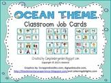Ocean Theme Job Cards