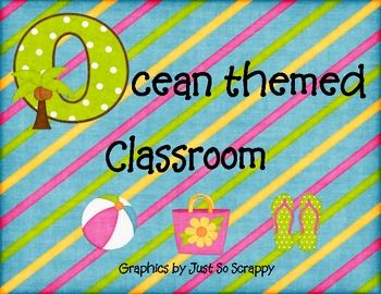 Ocean Themed Classroom Decorations