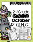 October Print N' Go 2nd Grade