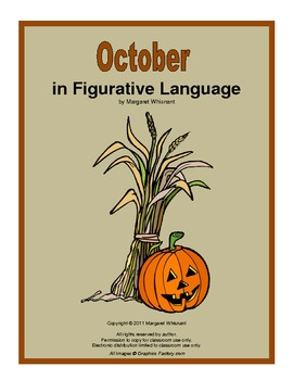 October in Figurative Language