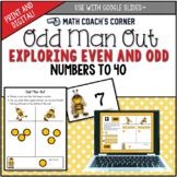 Odd Man Out; Exploring Even and Odd Numbers to 20