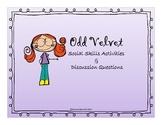 Odd Velvet Back to School Social Skill Activities and Disc