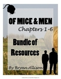 Of Mice And Men by John Steinbeck Bundle of Resources