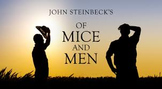 Of Mice and Men by John Steinbeck Complete Novel Bundle (1