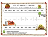 Olivia Owl's Ou and Ow Word Game Literacy Station RF.1.3, RF.2.3