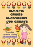 Olympic Games Classroom Job Charts