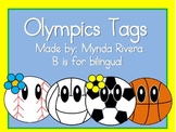 Olympics Tags (English & Spanish)