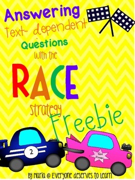 Text Evidence RACE Strategy