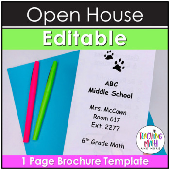Open House Trifold Flyer