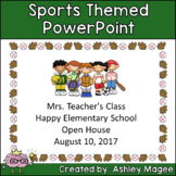 Open House or Back to School PowerPoint Presentation - Spo