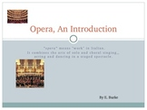 Opera, An Introduction