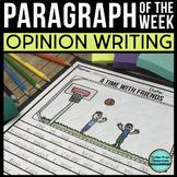 Opinion Paragraph of the Week: 36 Writing  Packets {Common
