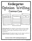 Opinion Writing - Common Core
