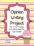 Opinion Writing Project