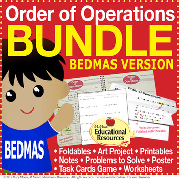 Order of Operations BODMAS