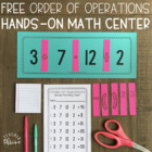 Order of Operations: Riddles for Hands-On Learning