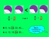Ordering Unlike Fractions PowerPoint by Kelly Katz