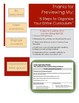 Organize Your Curriculum in 5 Easy Steps! - Templates to P