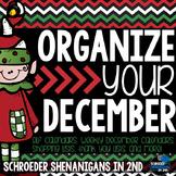 Organize Your December - Calendars, schedules, checklists,
