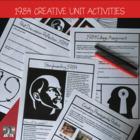Orwells 1984, Activity Bundle, High School ELA