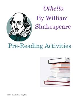 Othello: Pre-Reading Activities