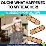 Ouch!  What Happened to My Teacher! {A lesson to review ou